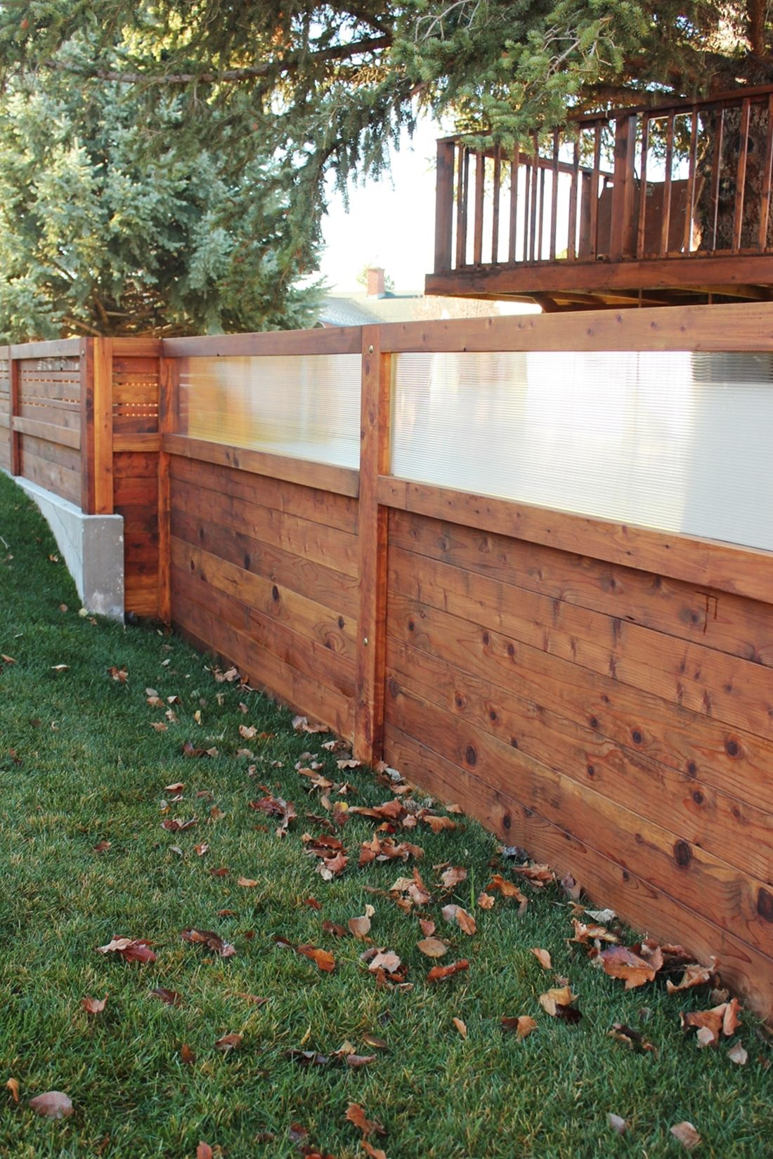 Curb Appeal - solid design into your backyard