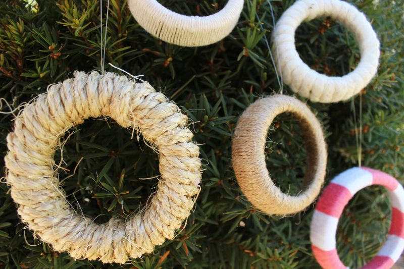 DIY Christmas wreath project