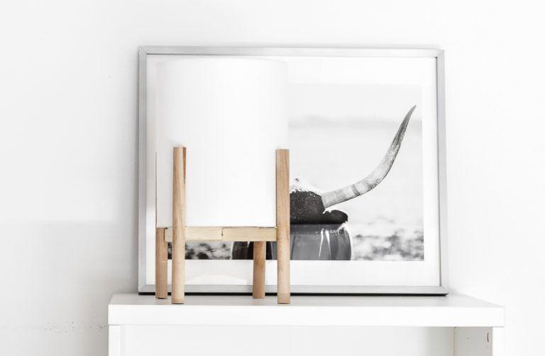 DIY Mid-Century Modern Lamp