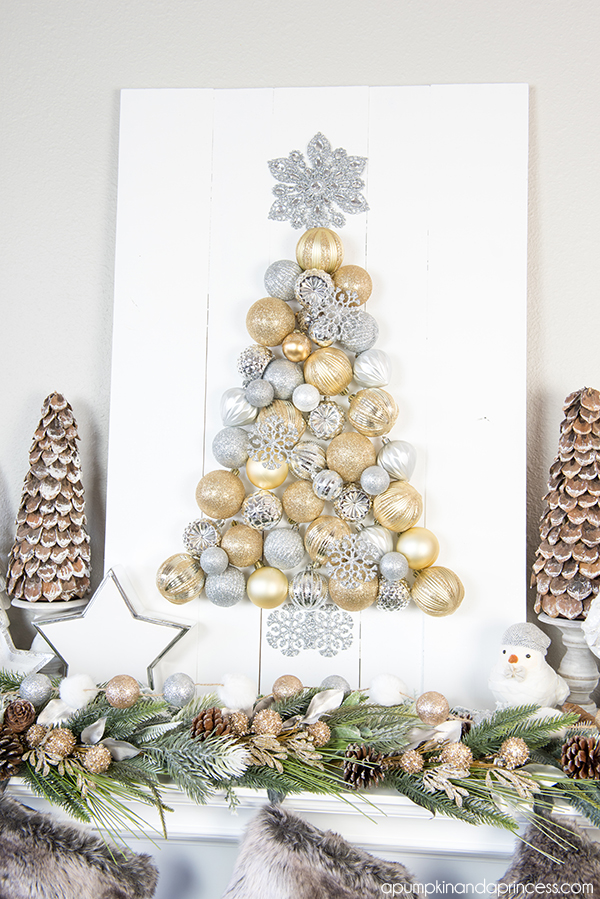 DIY Ornaments Tree