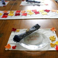 15 creative diy projects for thanksgiving for 10 minute table runner placemats