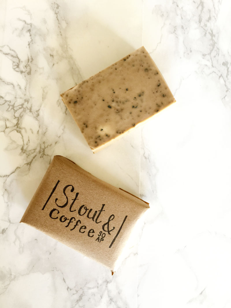 DIY coffee soap