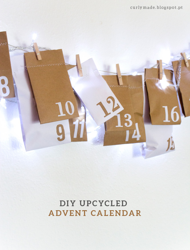 DIY upcycled Advent Calendar