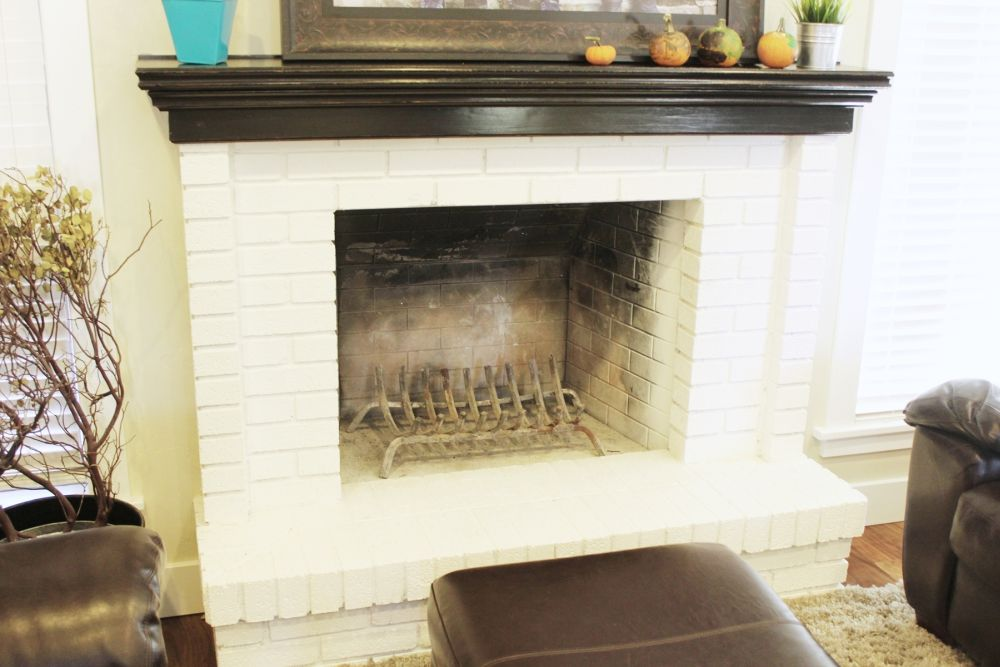 Decorating ideas around fireplace