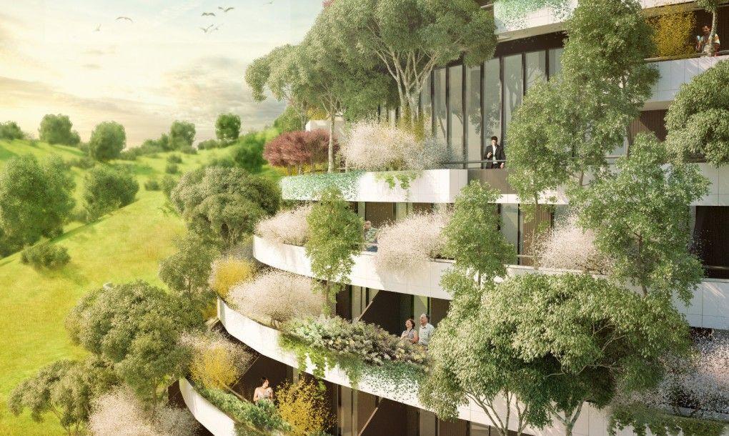 Design Vertical forest Mountain Hotel