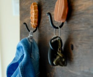 Fall Inspired Leaf and Pumpkin Wall Hooks