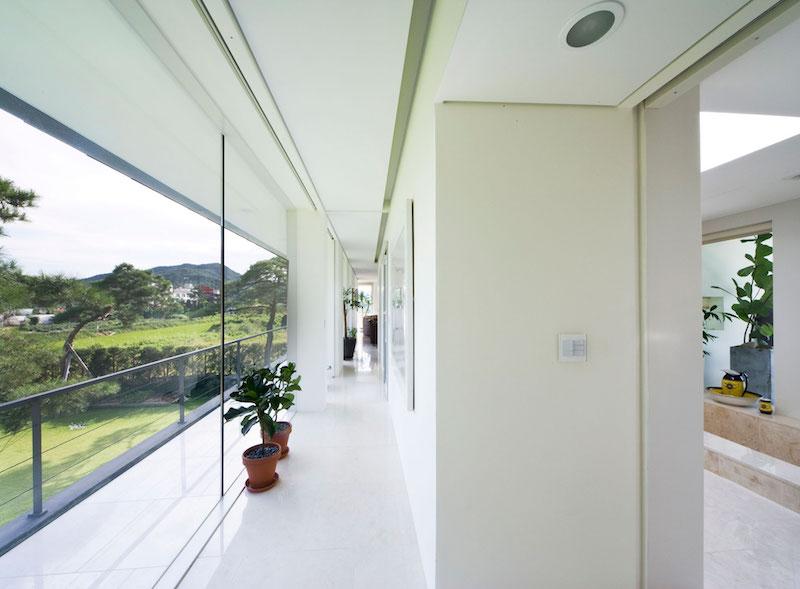Floating House balcony interior