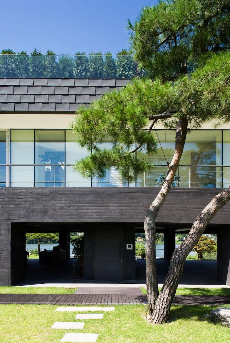 Floating House facade design