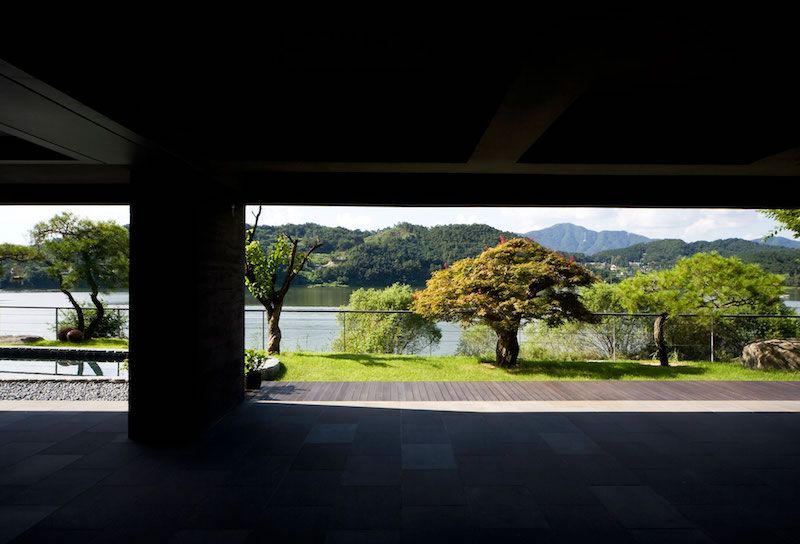 Floating House ground floor view