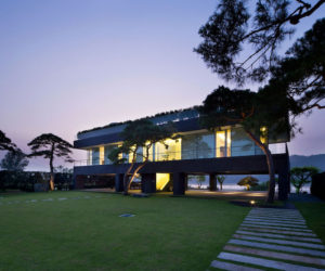 ... Modern Korean House Inspired By Traditional Architecture And Feng Shui
