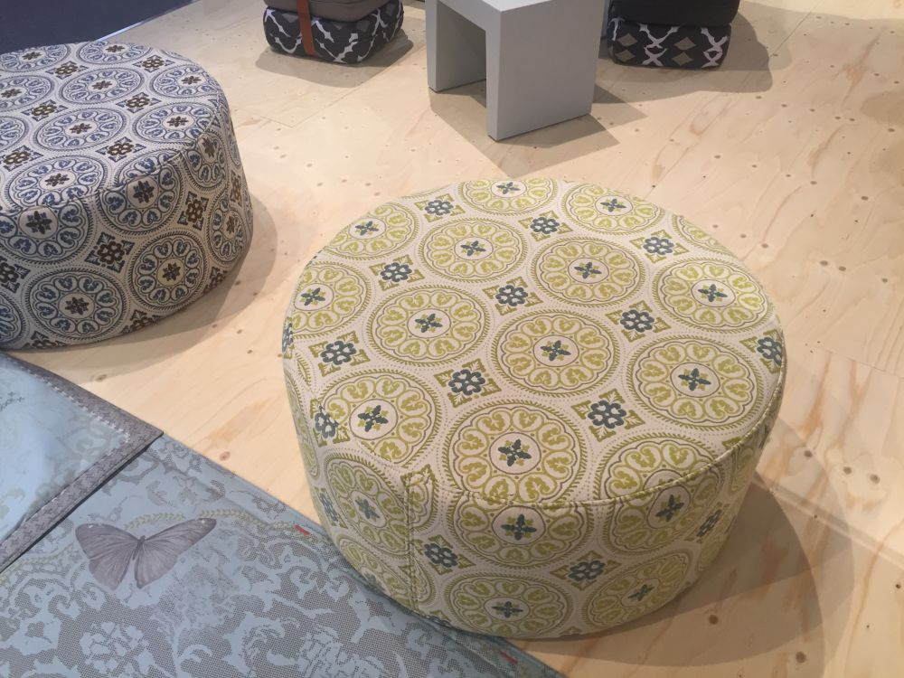 Floral Fabric Pattern For Ottoman Amazing Ideas