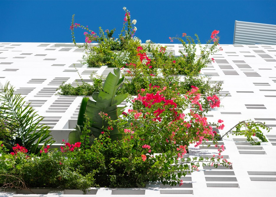 French studio Ateliers Jean Nouvel Tower Block Facade