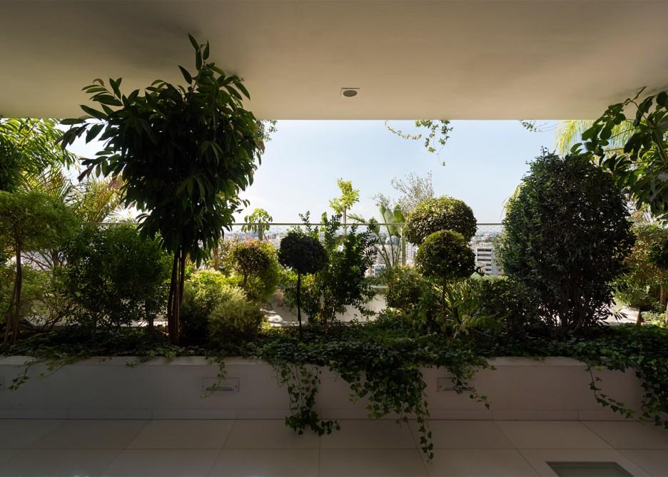 French studio Ateliers Jean Nouvel Tower Block Interior Plants