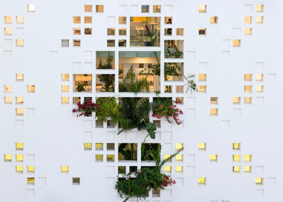 French studio Ateliers Jean Nouvel Tower Block Plants