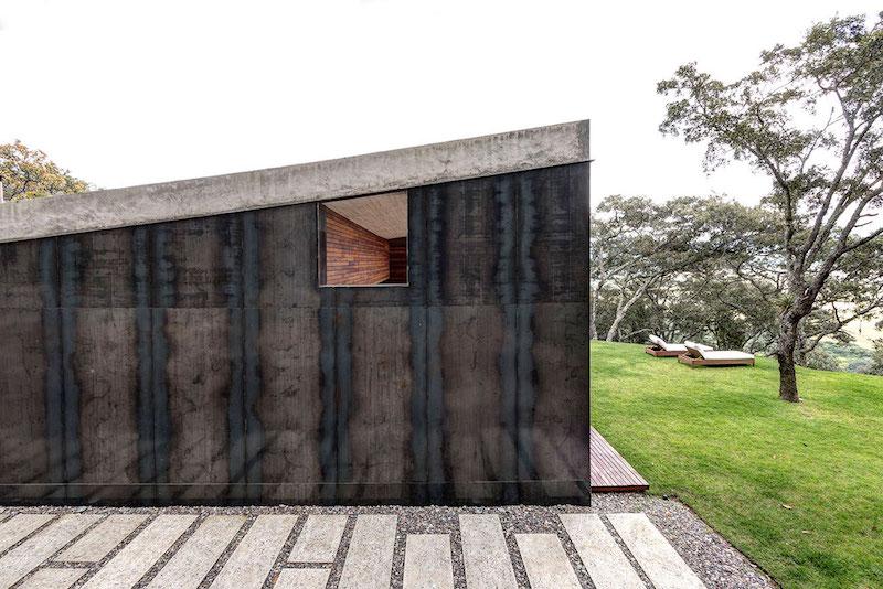 GG House steel facade