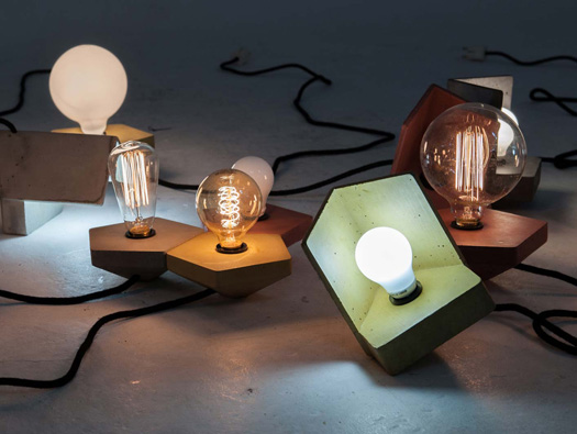 Concrete Lamps And Their Unexpected Warming Effect On Our Homes