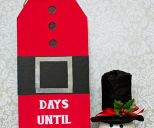 How To Make A Giant Countdown Wood Christmas Sign