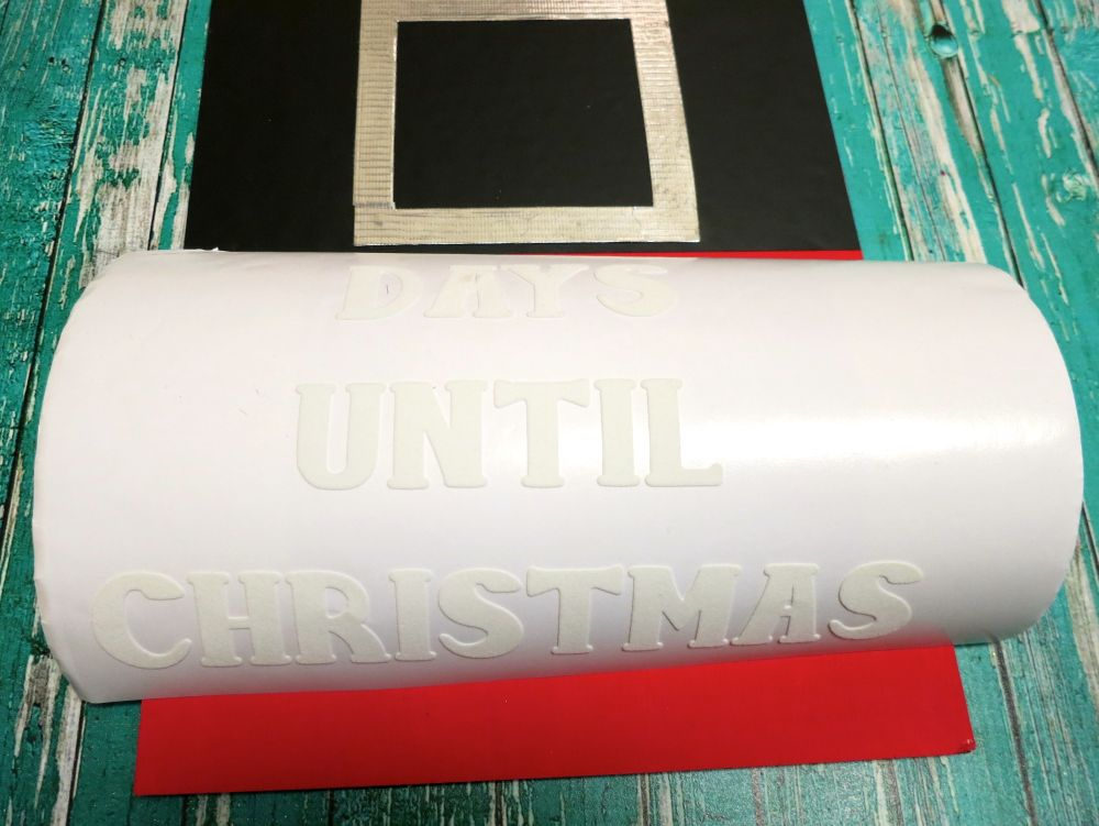 Giant Christmas Countdown Tag - Until