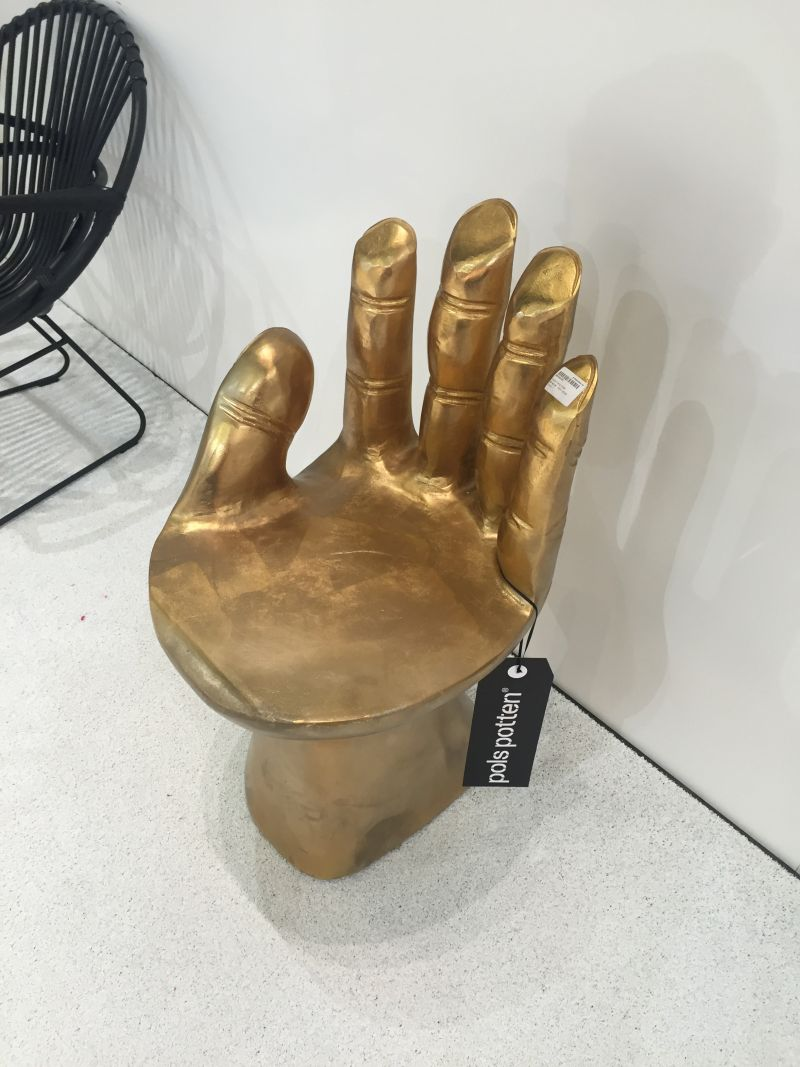 Golden Hand Chair