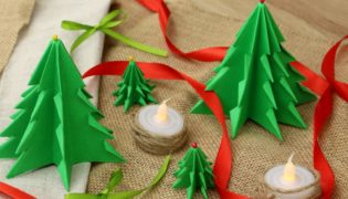 Fold A Forest-Full Of Paper Christmas Trees