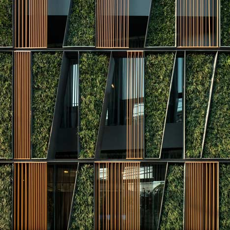 Green Vertical Living Gallery by Sansiri and Shma