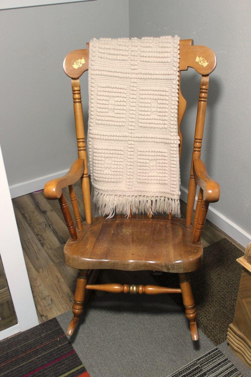Guest Kids Bedroom rocking chair