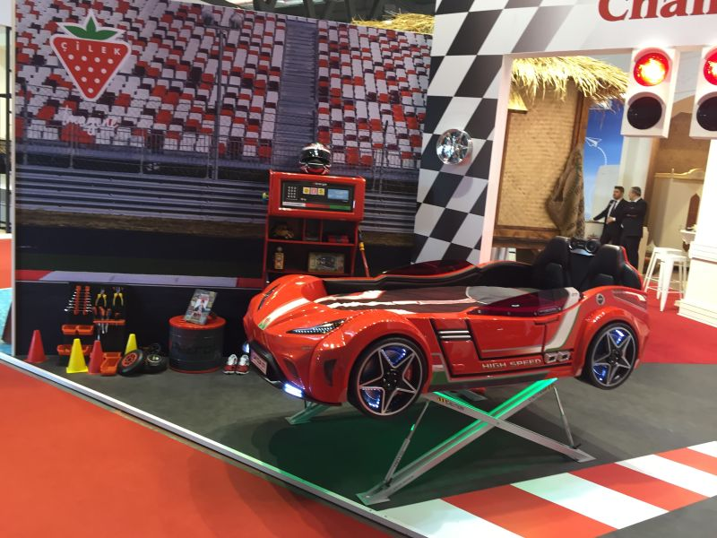Hot Rod Racer - themed bedroom