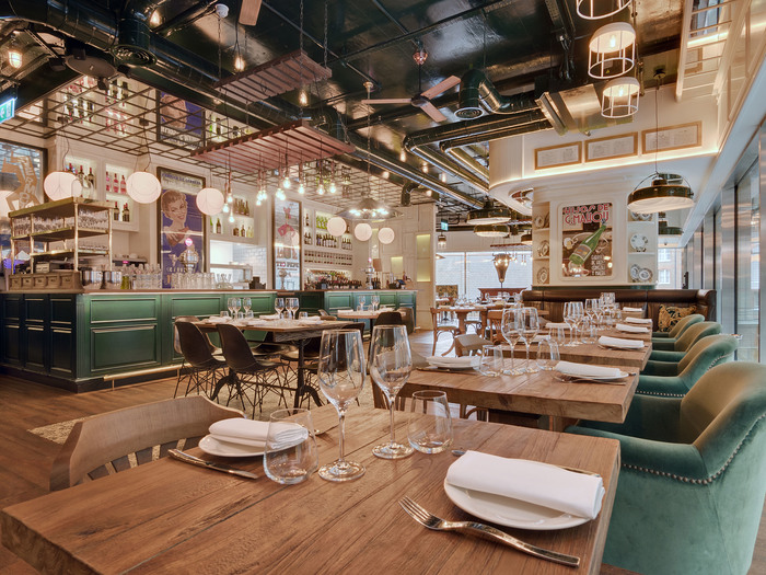 The restaurant and bar design awards reach the 8th edition for Restaurant design london