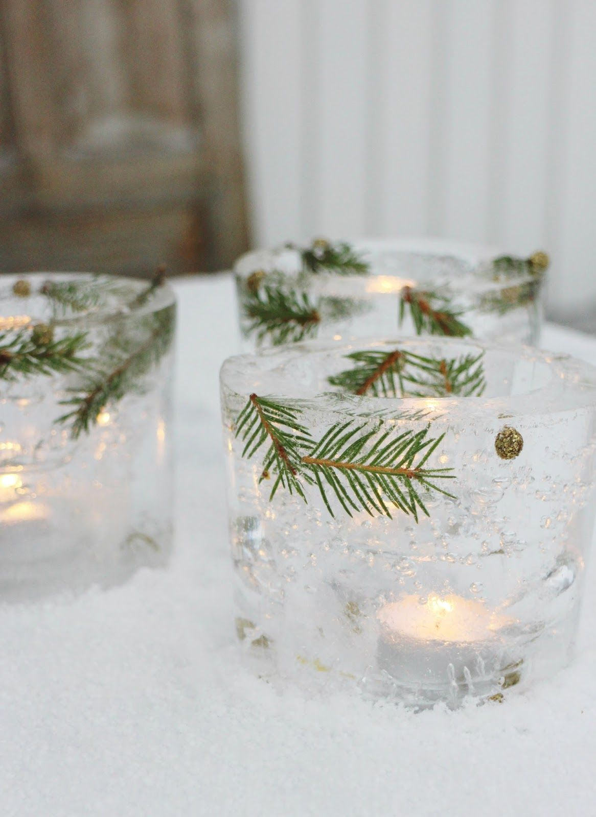 Ice Candle Glass