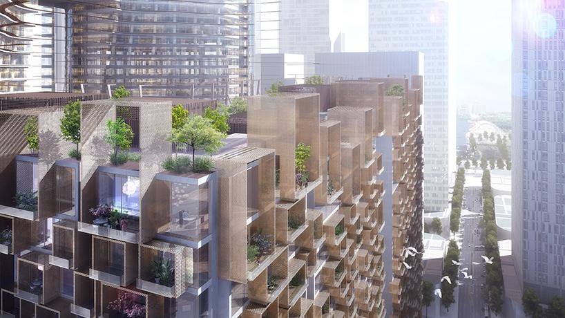 Landscape studio Gustafson Porter Concept Building