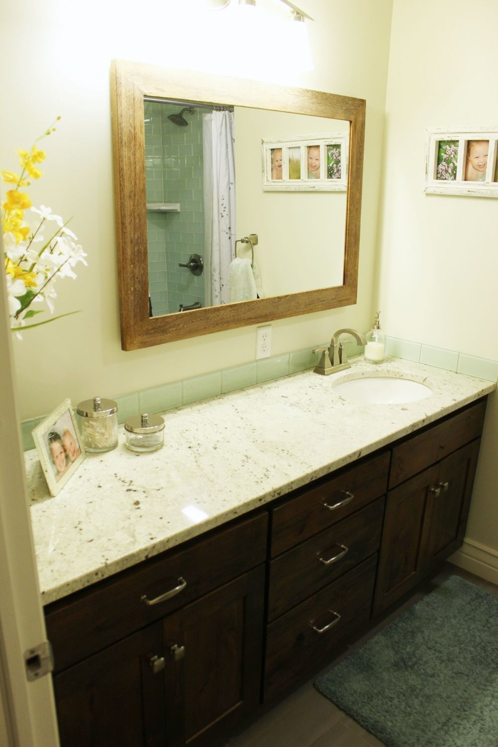 Large mirror for bathroom - rectangular
