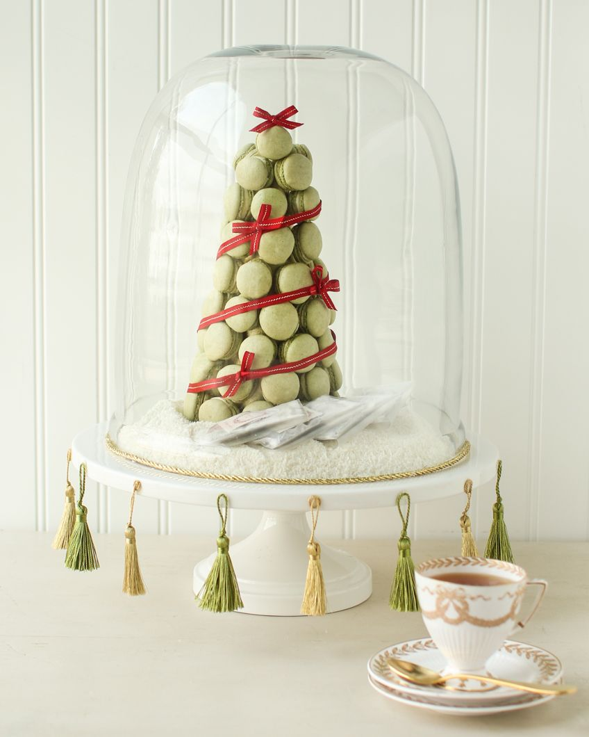 Edible Centerpieces. Macarons Christmas Tree Part 49