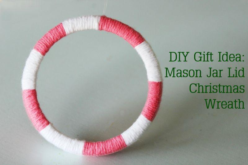 Mason Jar Lid Wreaths