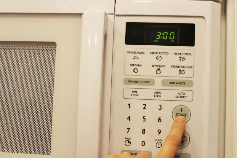 Microwave on high for about three minutes