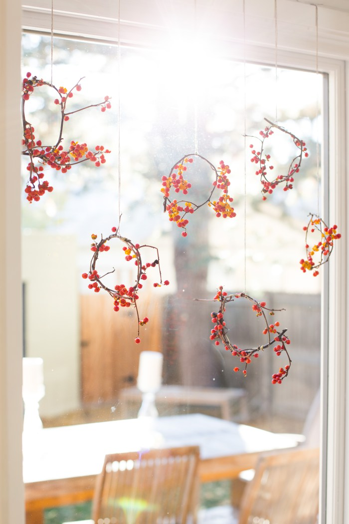 Mini Holiday Wreath DIY