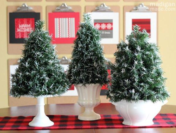 Mini topiary trees