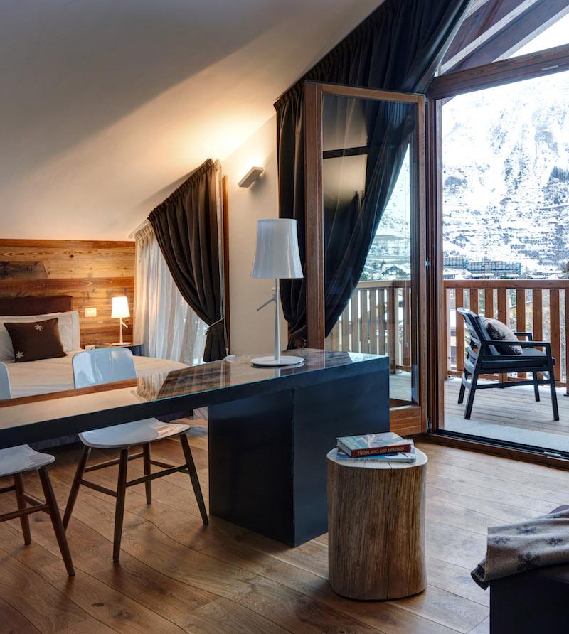 Nira Montana Hotel Schlafzimmeransicht