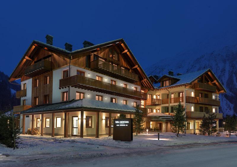 Nira Montana Hotel Außendesign