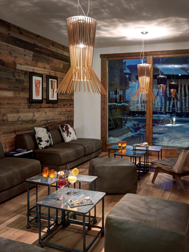 Nira Montana Hotel Loungebereich