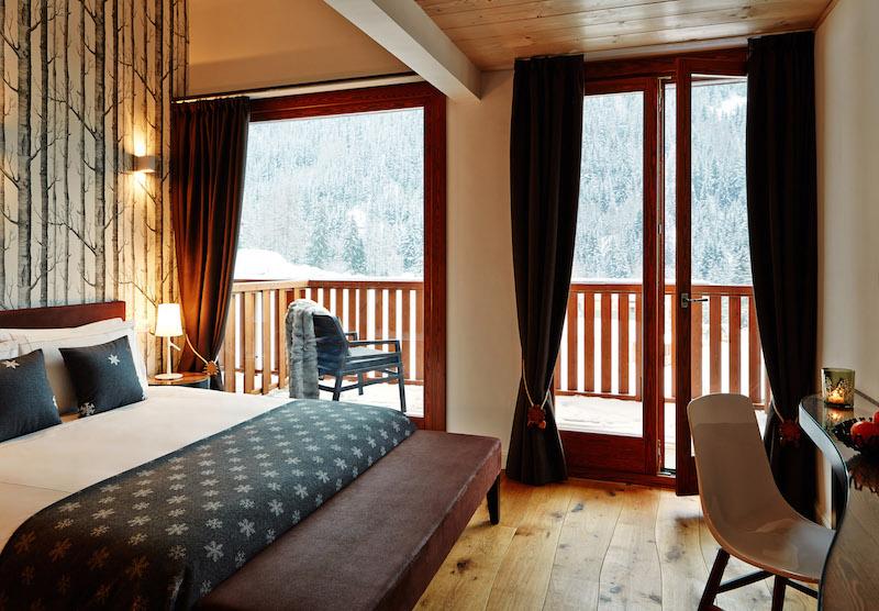 Nira Montana Hotelzimmer mit Balkon