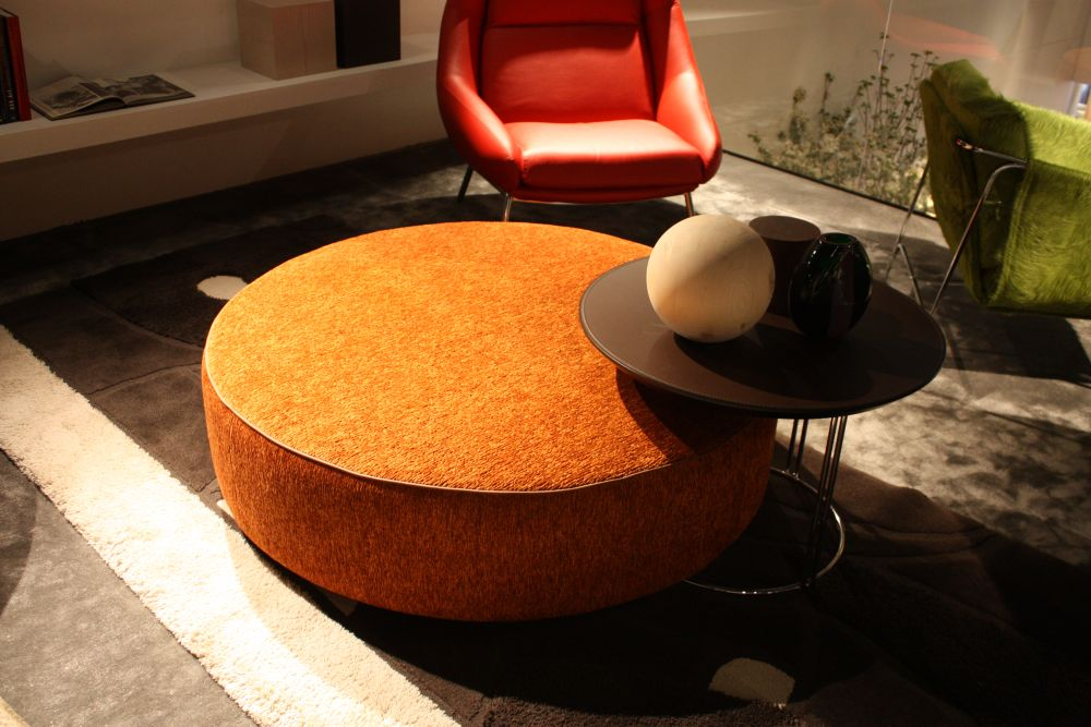 Orange Ottoman Fun Orange Ottoman One Kings Cocktail Ottomans Media Room Felipe Orange Large