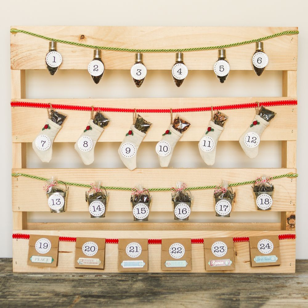 Pallet Christmas Advent Calendar