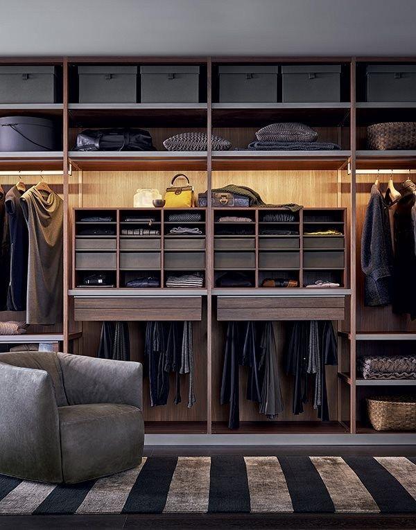 Poliform senzafine closet design Systems