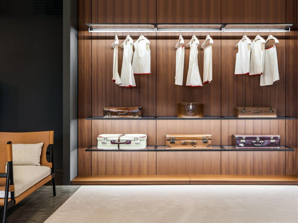 Porro storage wardrobe Boiserie