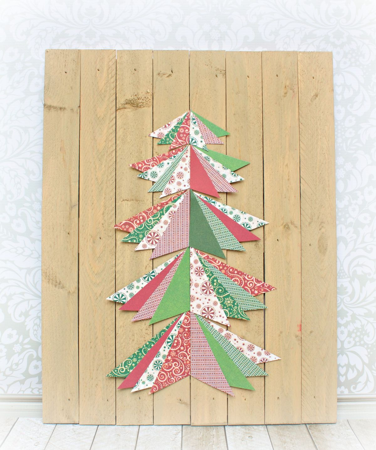 Project Christmas Tree Wall Art Materials