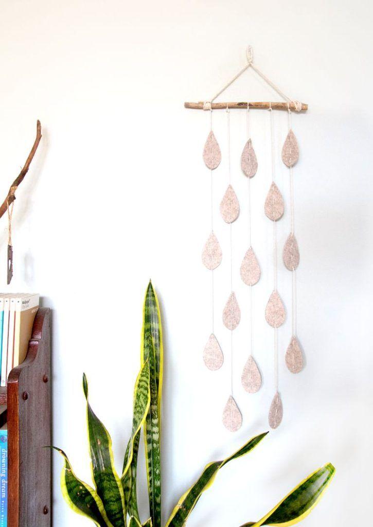 Raindrop Wall Hanging