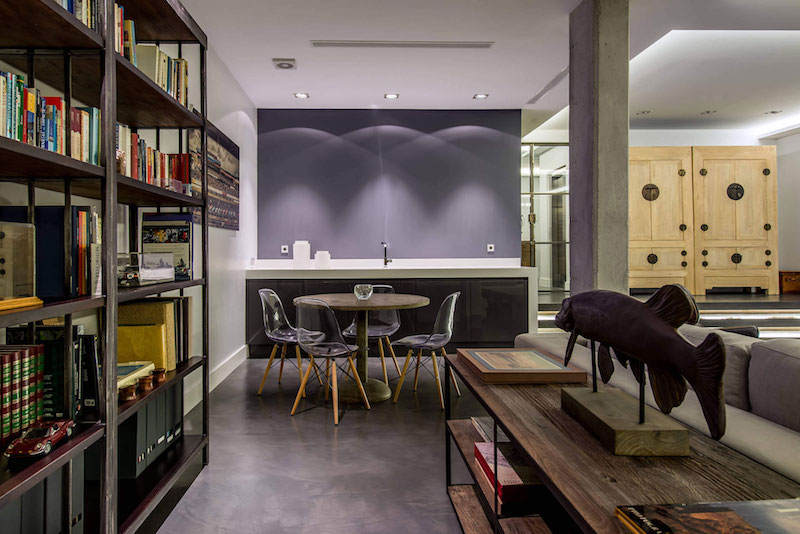 Residencial III house bookcase