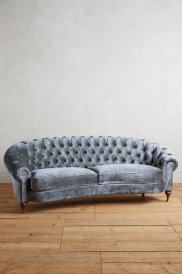 Round Tufted Sofa