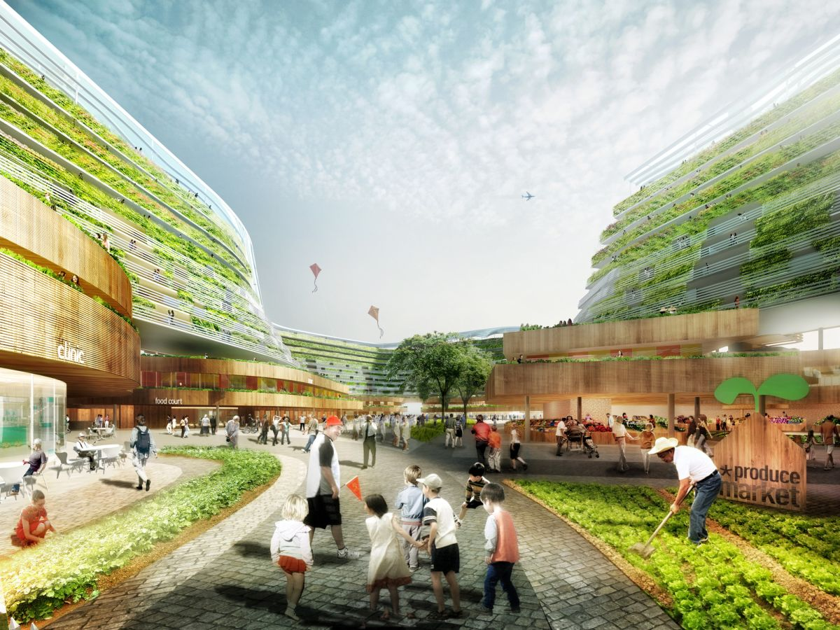 SPARK Proposes Vertical Farming Hybrid Design