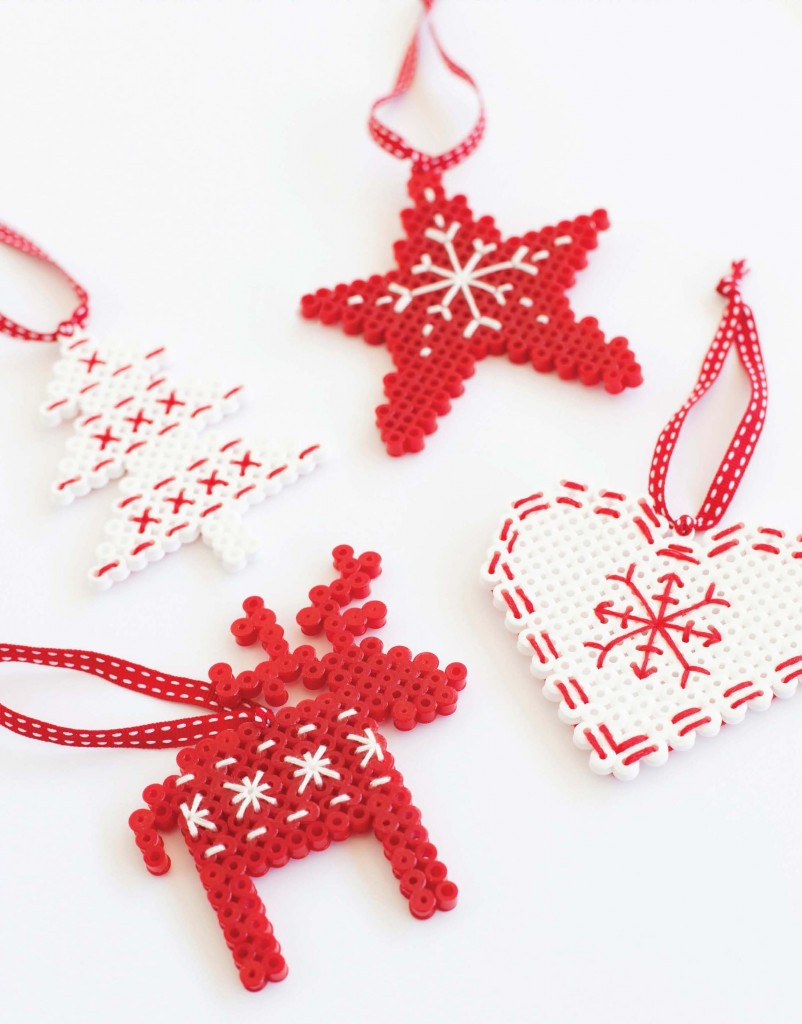 Scandinavian Style Christmas Tree Ornaments